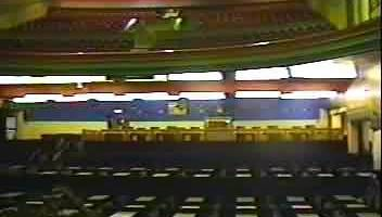 Longford Essoldo Cinema Stretford from the stalls looking up
