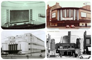 cinema architect, art deco, stretford, architeture, auditorium