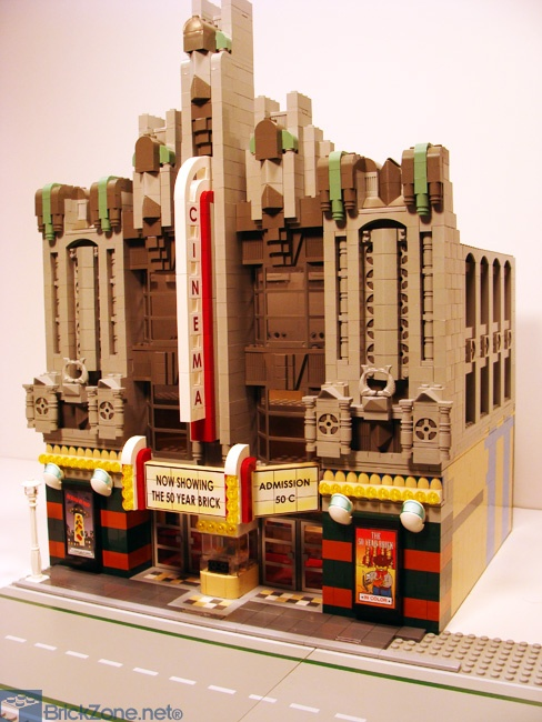 Minecraft Lego House Art Deco Venues from a...